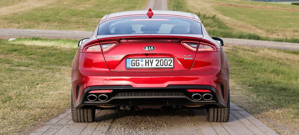 The Kia Stinger GT Exhaust 2