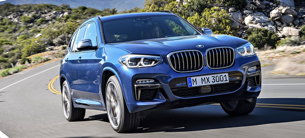 BMW X3 M40i Front