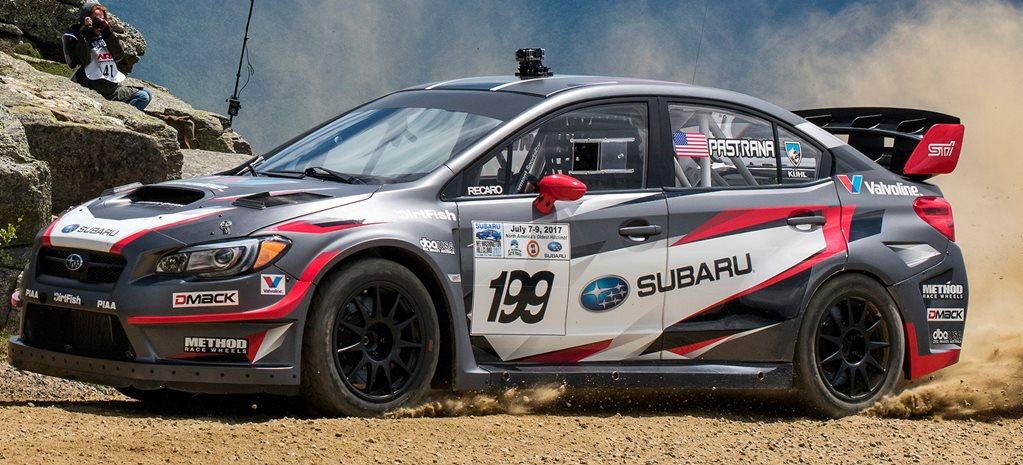 Subaru Rally Car >> 450kw Subaru Wrx Sti Sets Hillclimb Record