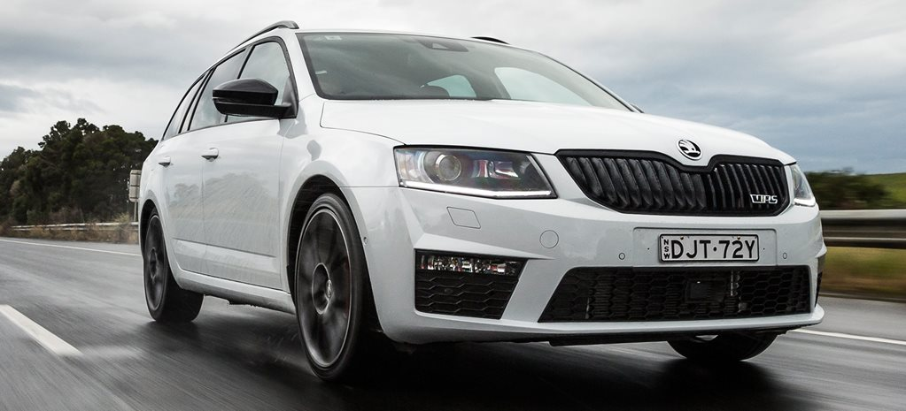 2017 Skoda Octavia RS230 main