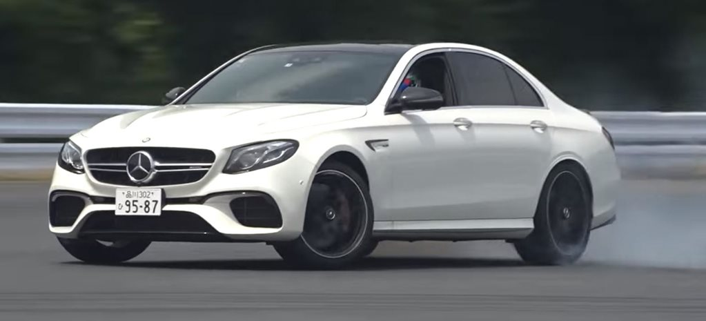 Mercedes AMG E63 S 4MATIC drifted