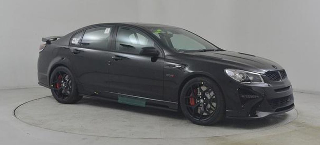 2017 HSV GTSR W1 goes to auction