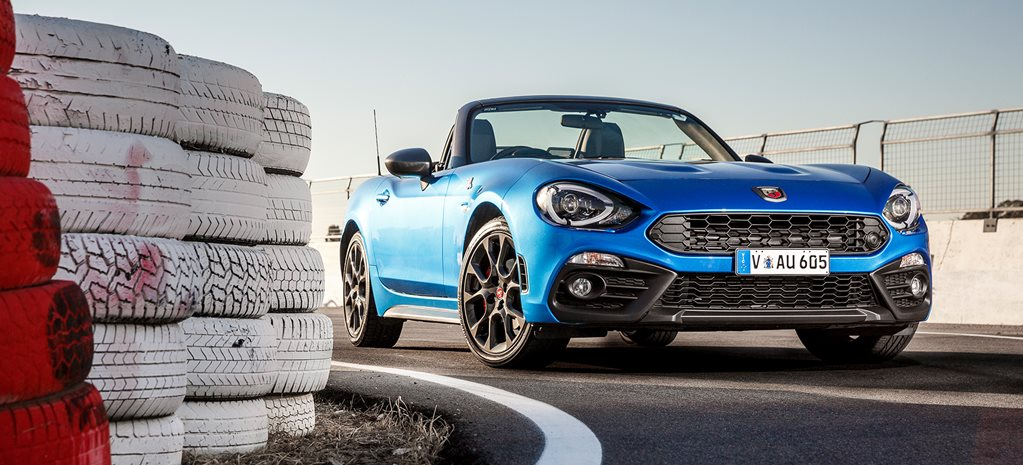 2017 Abarth 124 Spider front facing