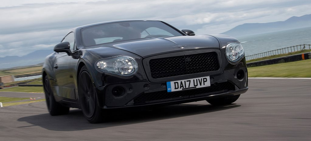 2018 Bentley Continental GT protoype main