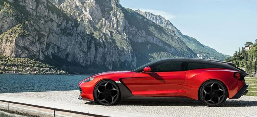Aston Martin Vanquish Zagato Shooting Brake Speedster Revealed