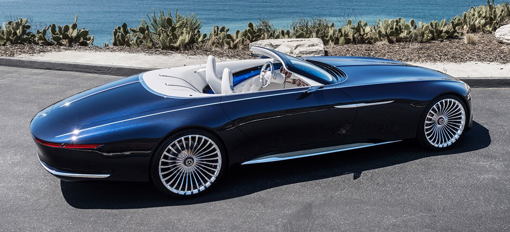 Mercedes Maybach 6 Cabriolet revealed at Pebble Beach
