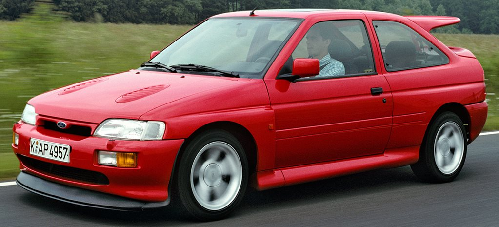 1992 Ford Escort RS Cosworth Quick History
