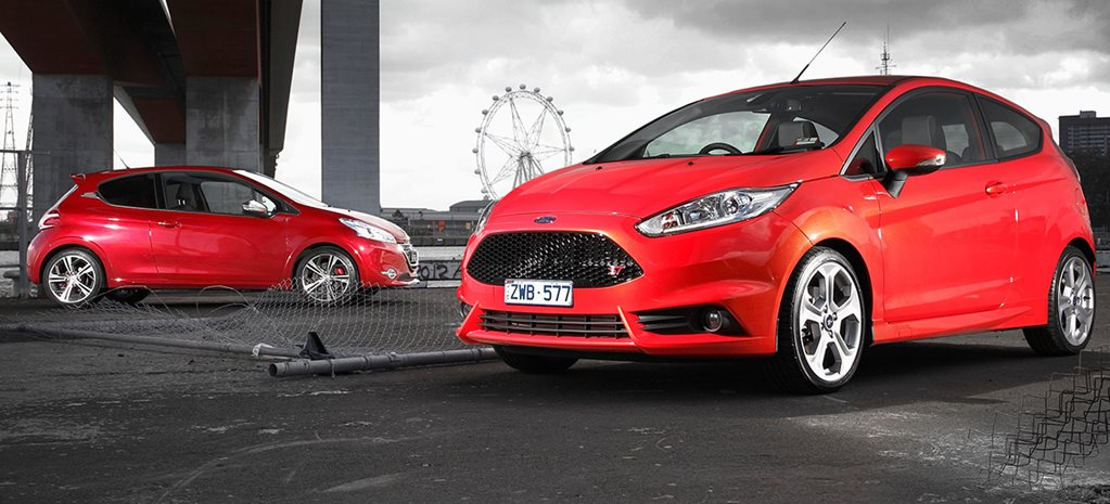 Ford Fiesta ST vs Peugeot 208 GTi main