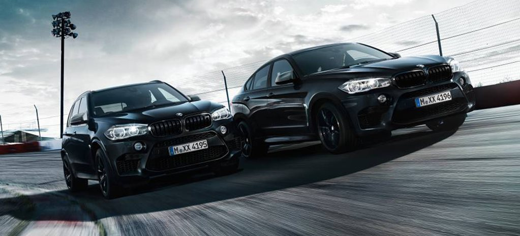 BMW X5 M and X6 M Black Fire Editions main