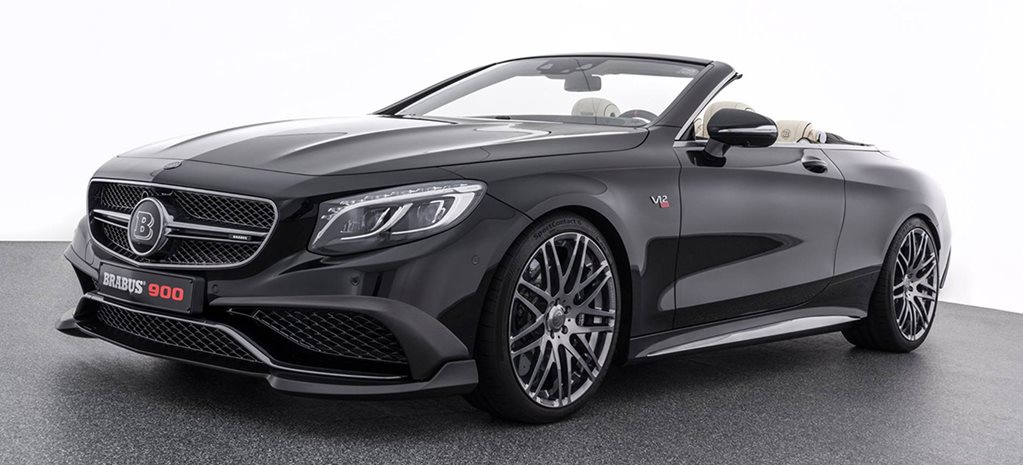 Mercedes AMG S 65 based Brabus Rocket 900 main
