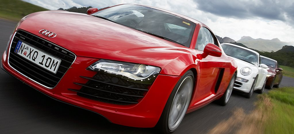 Audi R8 vs Porsche 911 Carrera S vs BMW M6 main