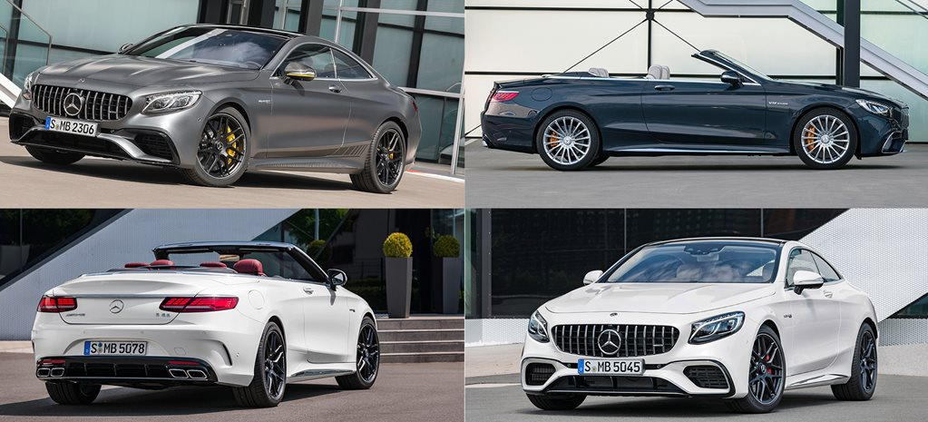 Mercedes AMG S63 and AMG S65 updated main