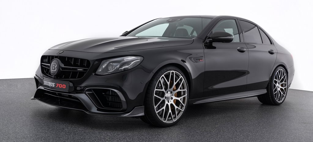 Mercedes AMG E63 based on Brabus 700 revealed