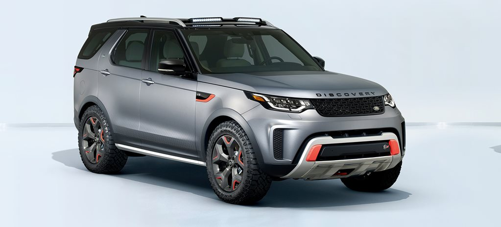 Land Rover Discovery SVX cover