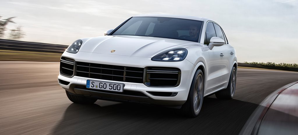 Porsche Cayenne Turbo main