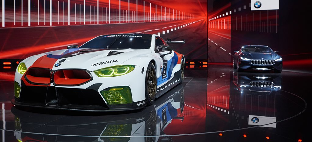 BMW M8 GTE reveal