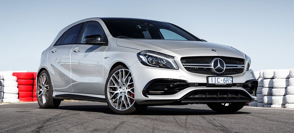 2017 Mercedes Amg A45 2nd Overall