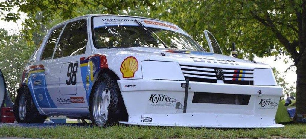 Custom Peugeot 205 built by F1 main
