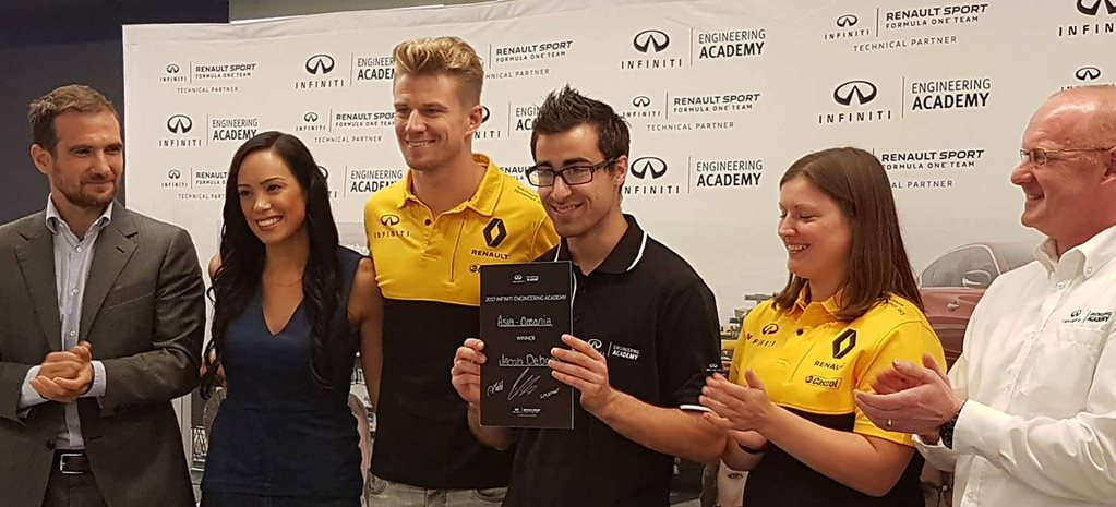 Young Aussie wins Infiniti Engineering Academy
