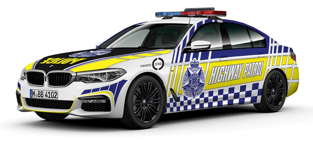 Victoria Police BMW 5 Series main