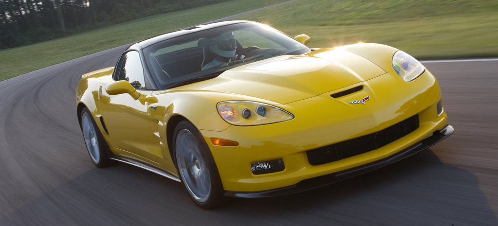 2009 Chevrolet Corvette ZR1 driving