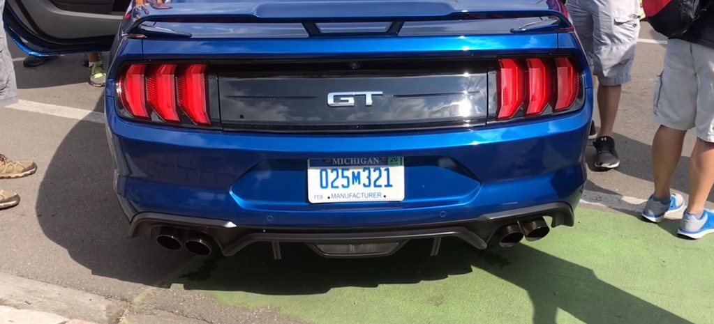 2018 Ford Mustang GT exhaust main