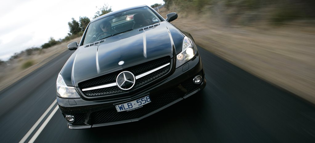 2008 Mercedes Benz SL63 AMG main