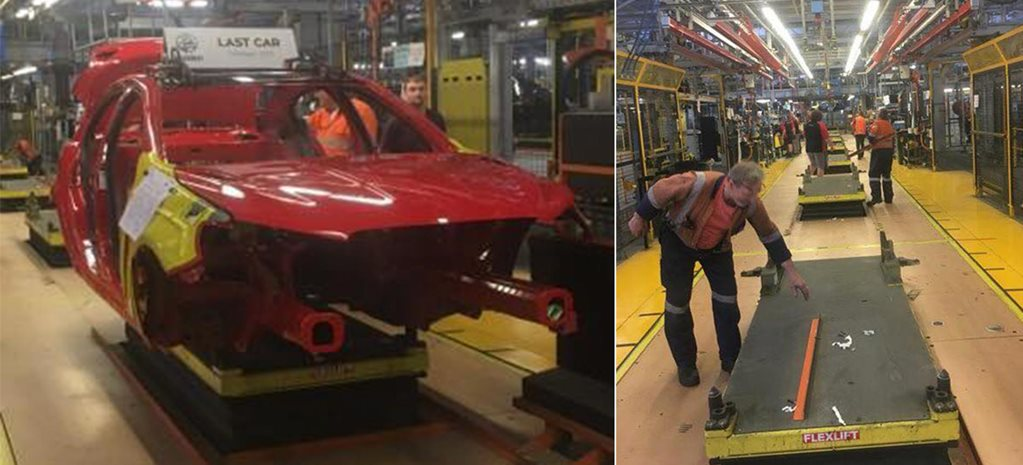 Last Holden Commodore Manufactured