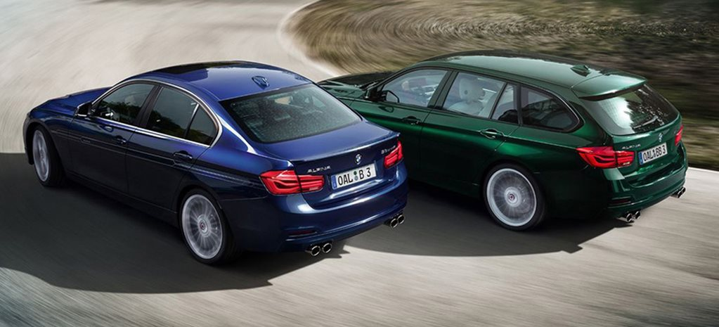 BMW Alpina B3 Sedan & wagon rears