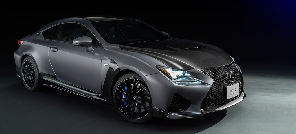 Lexus RC F coupe limited edition main