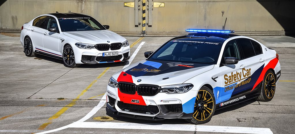 A BMW M5 is the new MotorGP safety car