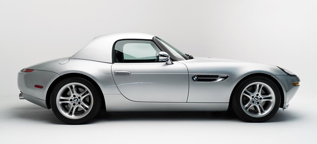 Steve Jobs BMW Z8 profile