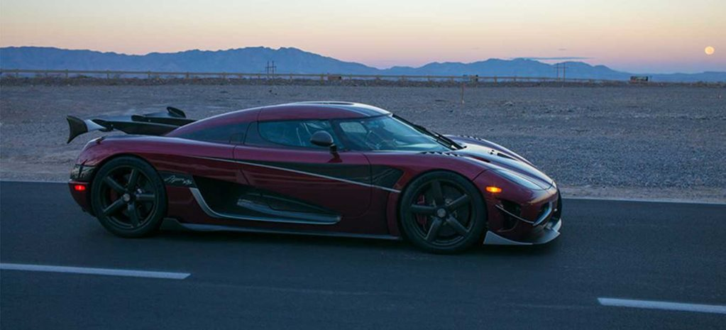 Agera RS speed record 2