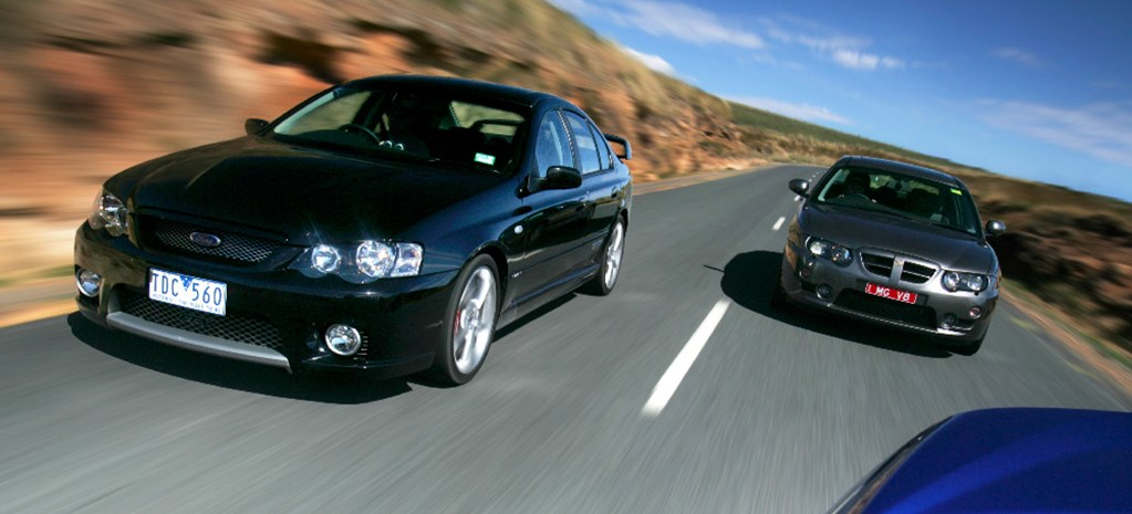 fPV Falcon GT P vs MG ZT260 MAIN nw
