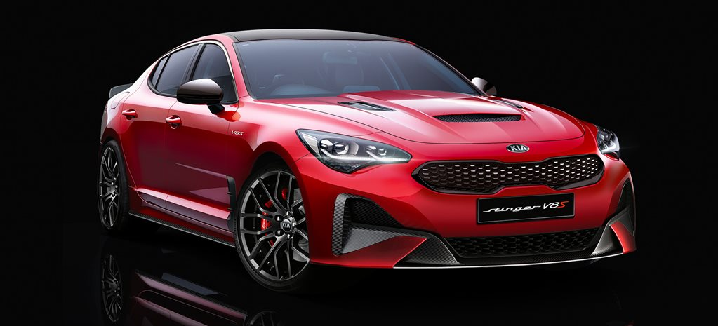 V8 powered Kia Stinger.