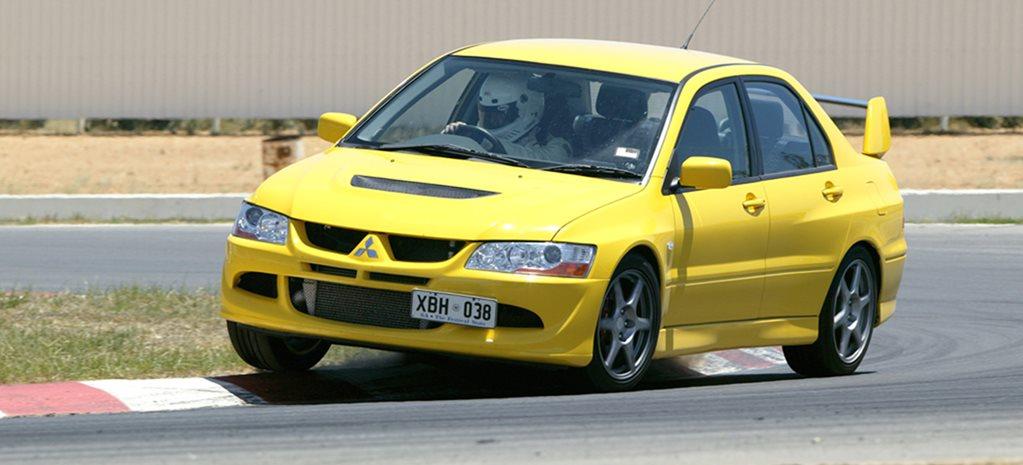 mitsubishi lancer evo viii at performance car of the year 2005
