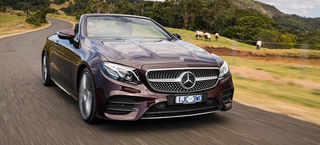 2018 Mercedes Benz E400 Cabriolet main