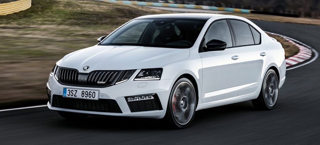 2017 Skoda Octavia RS main