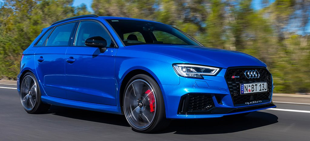 2018 Audi Rs3 Sportback Australian Pricing Revealed