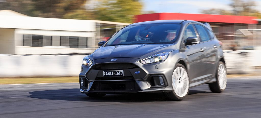 2017 Ford Focus RS track banner