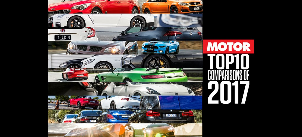 MOTORs top 10 comparisons of 2017 collage nw
