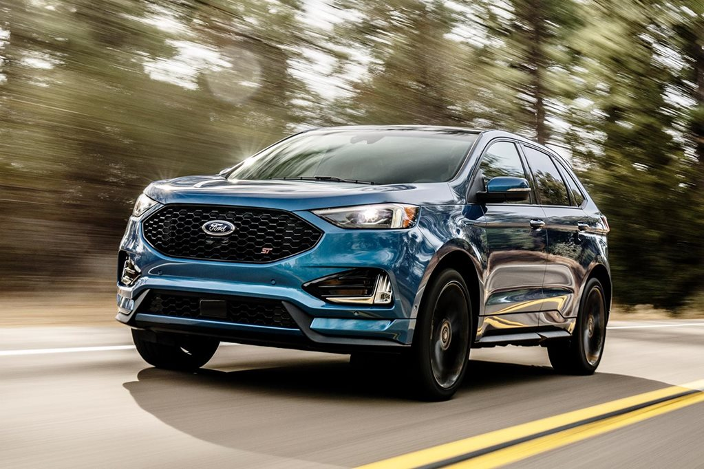 2018 ford edge st revealed