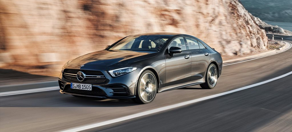 detroit motor show 2018 mercedes amg cls53 revealed