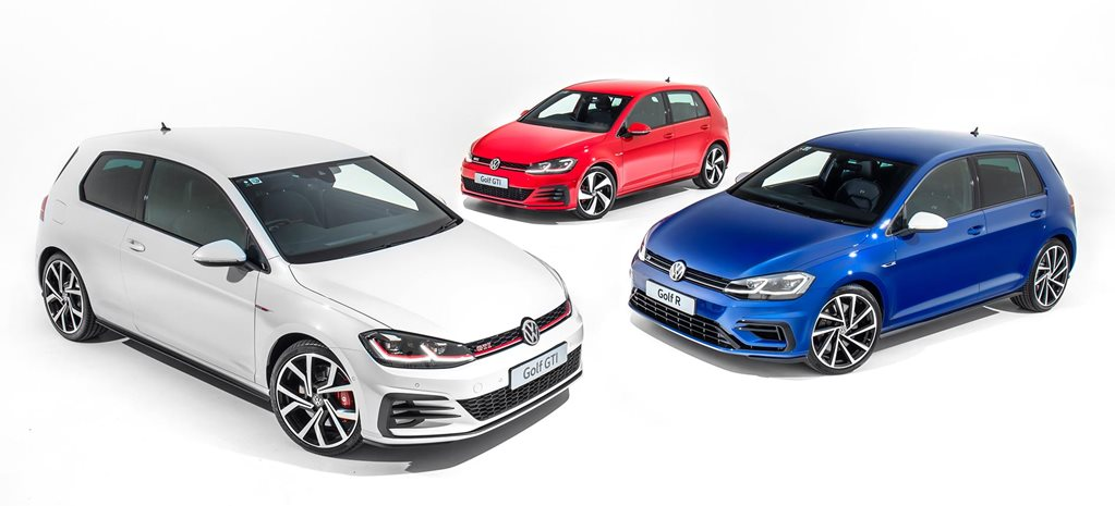 2018 volkswagen golf gti r range available