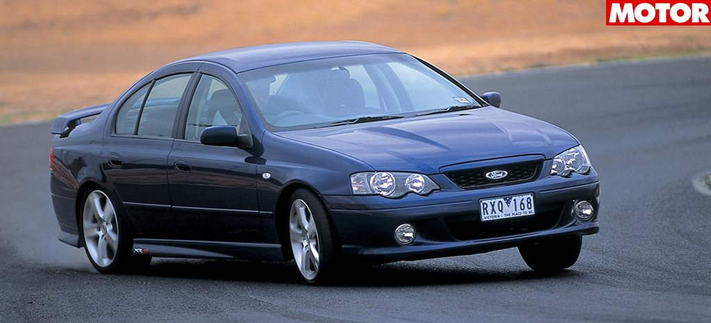 2003 Ford Falcon XR8 review classic MOTOR