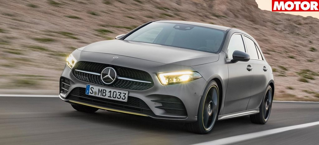 Mercedes AMG A35 electric turbo hatch to debut news