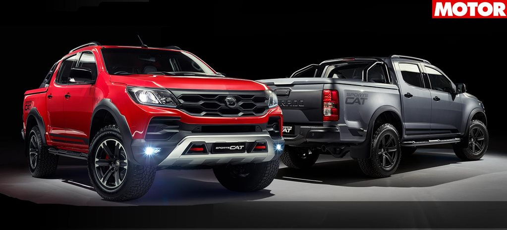 Holden Colorado SportsCat by HSV pricing announcement news