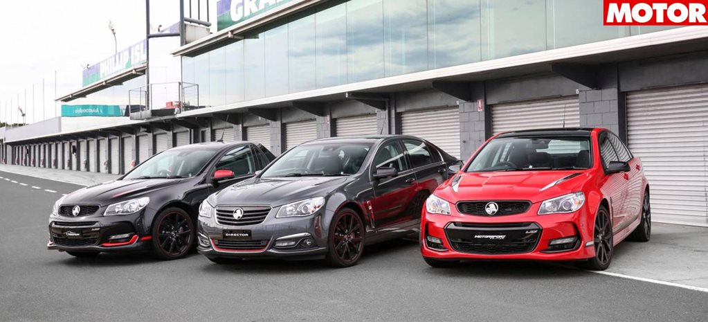Holden Commodore limited edition build numbers revealed