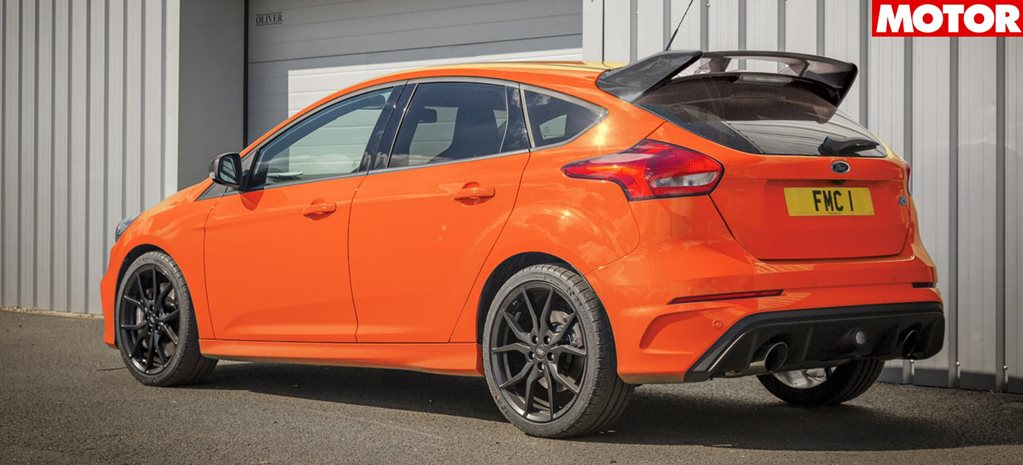 2018 ford focus RS Heritage Edition marks end news