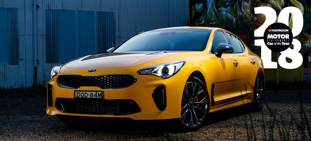 Performance Car of the Year 2018 Kia Stinger 330Si